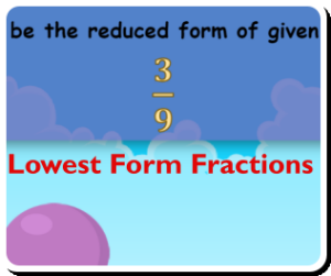 fraction simplification game thumbnail