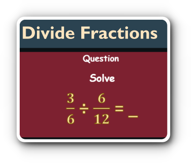 fraction division game thumbnail