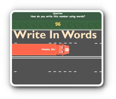 write numbers in words game thumbnail